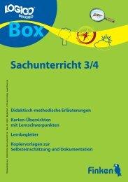 Logico-Box Sachunterricht 3/4