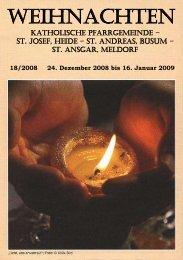 WEIHNACHTEN - Katholische Pfarrgemeinde St. Josef - Heide