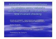 Adaptive correctness monitoring for wireless sensor networks using ...