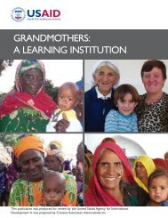 Grandmothers: A Learning Institution - Basic Education and Policy ...