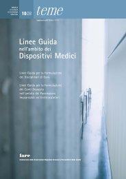 Linee Guida Dispositivi Medici - fareonline.it