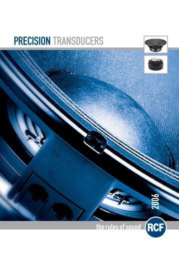 PRECISION TRANSDUCERS - Oktava