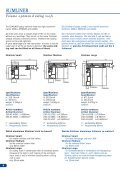 SLIDING ROOFS - Technical manual SCHIEBEVERDECKE - sesam - Seite 3