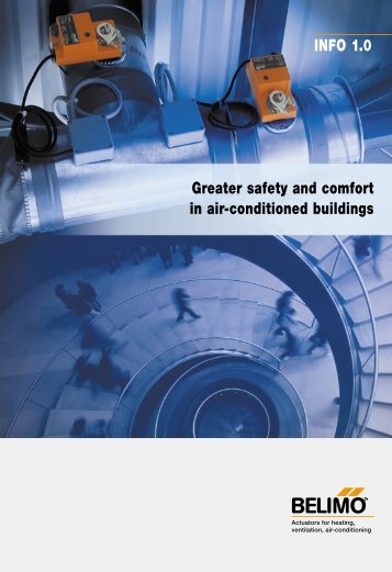 Greater safety and comfort in air-conditioned buildings ... - Belimo