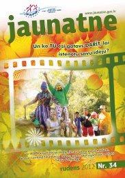 rudens 2012 Nr. 34 - Jaunatnes starptautisko programmu aģentūra