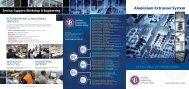 Aluminium Extrusion System - SES