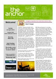 The Anchor Newsletter 22 April 2012 WITH MAST HEAD.pub