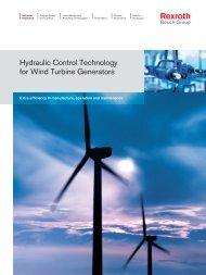 Hydraulic Control Technology for Wind Turbine ... - Bosch Rexroth