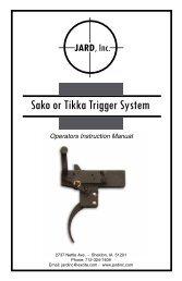 Sako or Tikka Trigger System - MidwayUSA