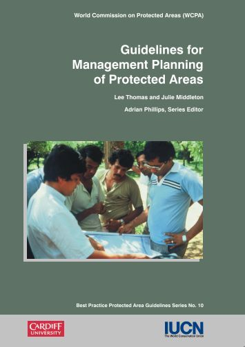 Guidelines for Management Planning of Protected Areas (IUCN