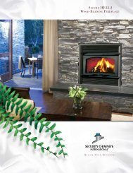 1 Wood Burning Fireplaces