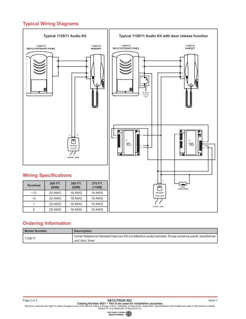 Typical Wiring Diagrams on