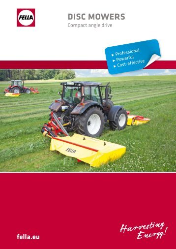 DISC MOWERS - Reco