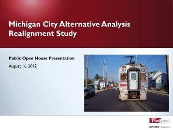 Michigan City Alternative Analysis Realignment Study