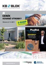 kované výrobky - KB - BLOK systém, sro