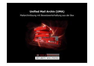 Fachvortrag UMA - Secutron GmbH