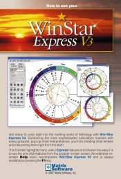 Win*Star Express - Matrix Software