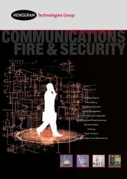 34557 Monogram 20pp - Sedgewall Communications Group