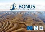 BONUS – Baltijas jūras pētniecības un attīstības programma