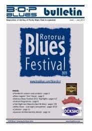 June - July 2013 - BOP Blues Club