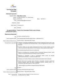 Pos. Org. Silipo Maria Letizia - Comune di Arezzo