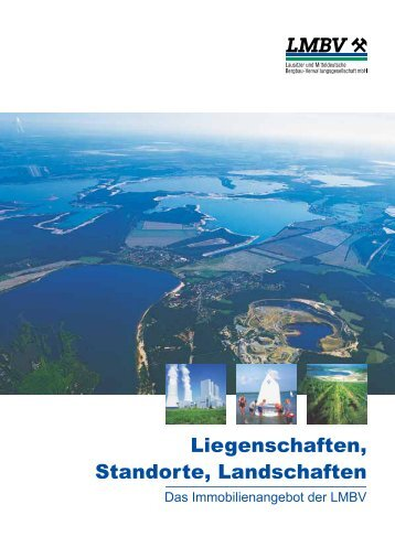 "Katalog ""Liegenschaften, Standorte, Landschaften"" - Mitteldeutsche ..."