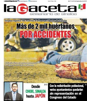 Edición 442 - SEMANARIO LA GACETA