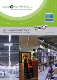 Katalog 2/2013 deutsch - LEDeXCHANGE