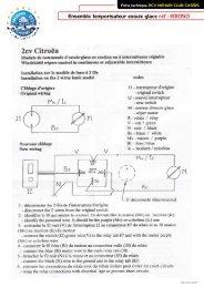Ensemble temporisateur essuie glace réf : 1101050 - 2CV MEHARI ...