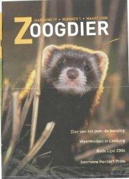 Zoogdier vernieuwd - Zoogdierwinkel