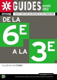 Académie de Créteil - Onisep
