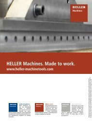 HELLER Machines. Made to work. - galika