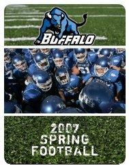 Spring Football Prospectus (PDF) - Buffalo Athletics - University at ...