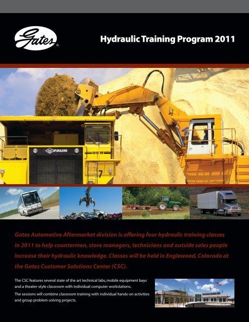 Hydraulic Training Program 2011