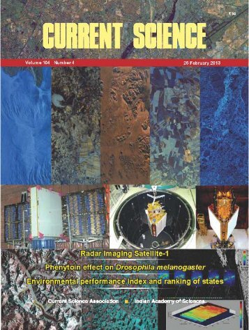 Special Issue on RISAT-1, Current Science, 25 March 2013 - Space ...