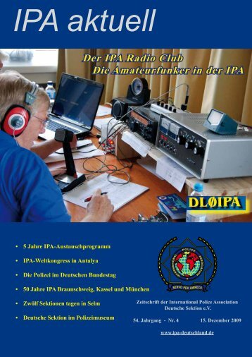 Der IPA Radio Club Die Amateurfunker in der - International Police ...