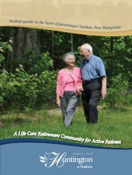 A Life Care Retirement Community for Active Retirees