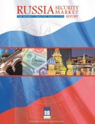 SIA_Russia_SMR-Exec Summary - Security Industry Association