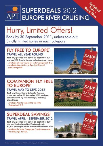 Hurry, Limited Offers! - Time Flys Travel