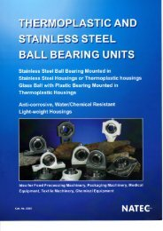 Ball Bearing Units Catalogue - Nachem.com.sg
