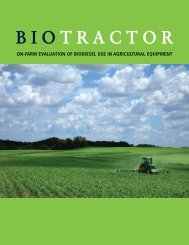 Biotractor: On-Farm Evaluation of Biodiesel Use in Agricultural ...