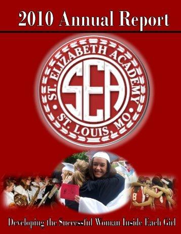 2010 Annual Report - St. Elizabeth Academy