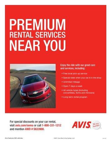 Car Rental - SEMA Show