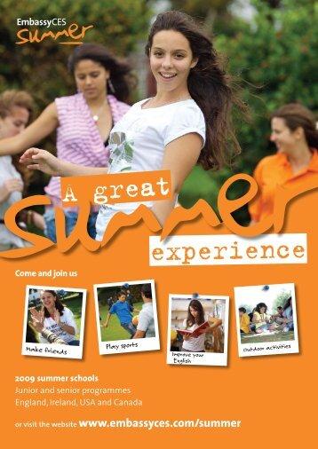 2009 summer schools - polskA-Anglia.co.uk