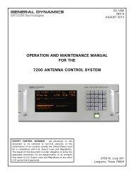 CG-1280 Rev. N 09/13 - General Dynamics SATCOM Technologies