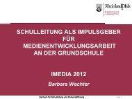Präsentation und Links - iMedia