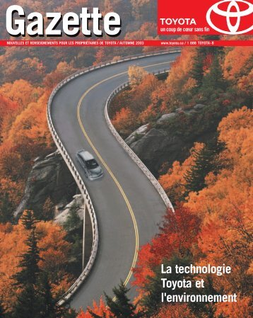 La technologie Toyota et l'environnement - Toyota Canada
