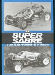 Tamiya Super Sabre Manual - Wheelsacademy.info