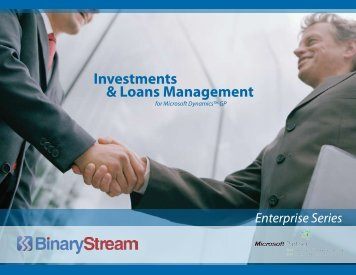 Download the Brochure - Binary Stream