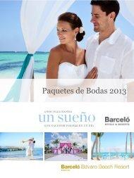 Paquetes de Bodas 2013 - Barceló Hotels - Barcelo.com
